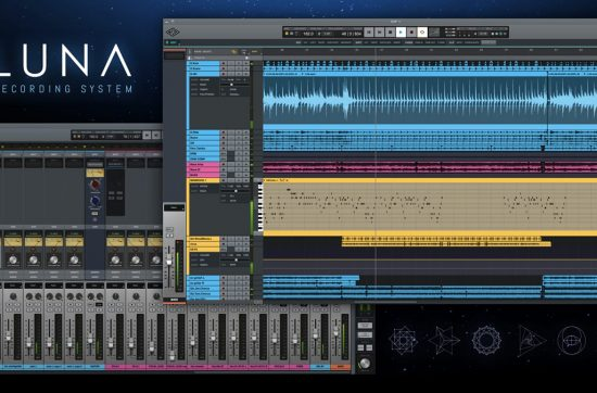 "UNIVERSAL AUDIO PRESENTA ""LUNA"" EL DAW PARA SUS INTERFACES APOLLO"