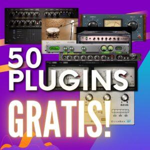50 plugins gratis